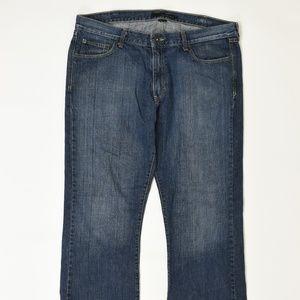 Calvin Klen Regular Blue 38 x30 Slim Boot Cotton